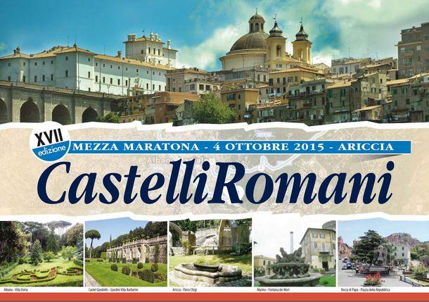 """XVII-edizione-""""Mezza-Maratona-Castelli-Romani""""---21,097-Km"""
